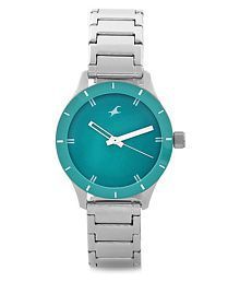 Fastrack Silver Analog Watch