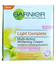 Garnier Skin Naturals Light Whiten & Protect Moisturizing Day Cream Gentle (48gm)