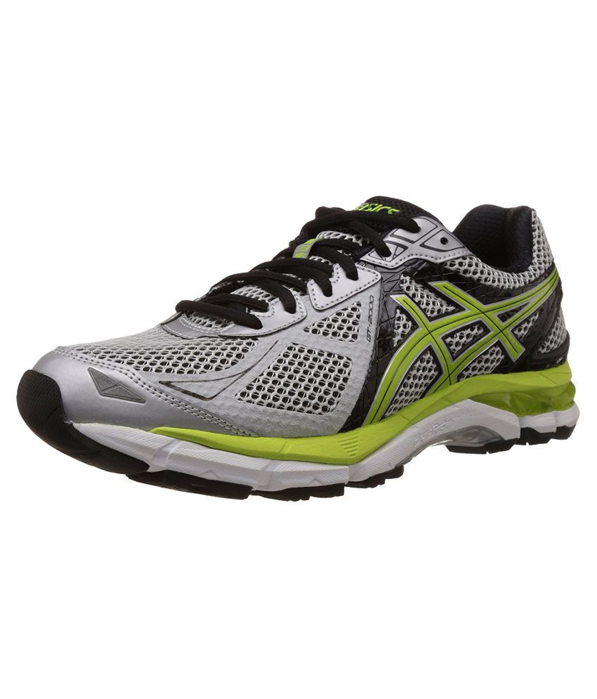 Asics Silver Running Shoes