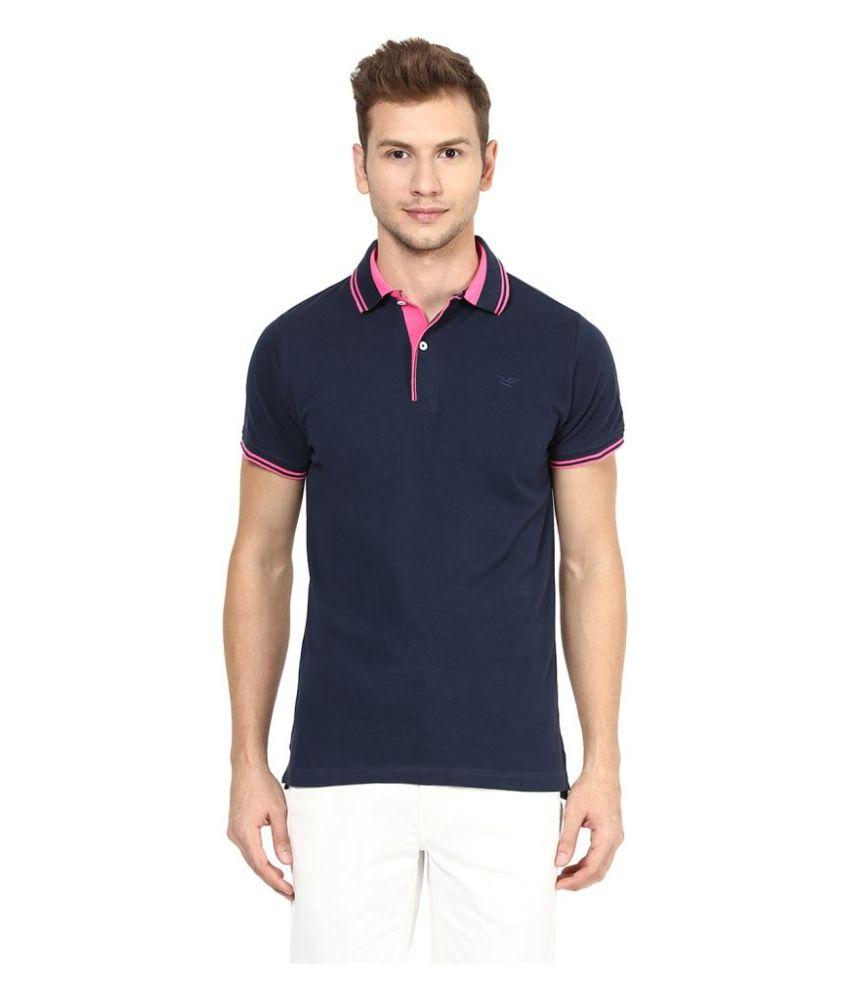 Sting Blue Round T-Shirt