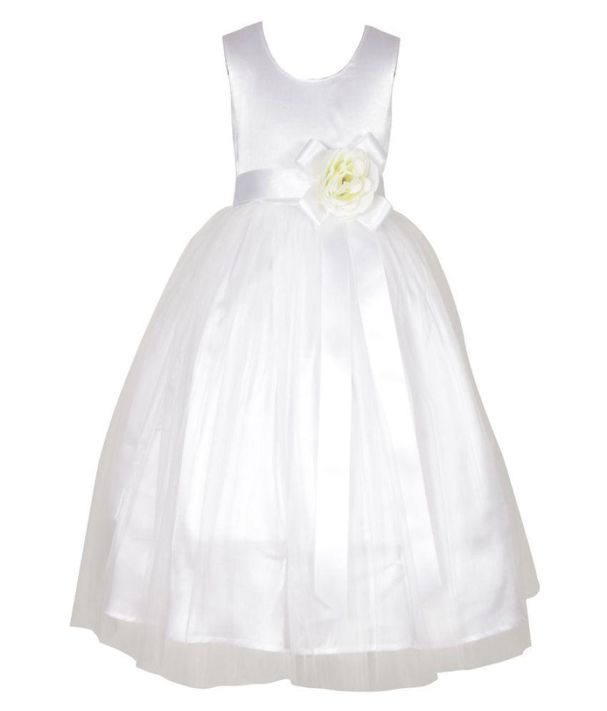 Sofyana White Baby Girl\'s Ball Gown - Buy Sofyana White Baby Girl\'s ...