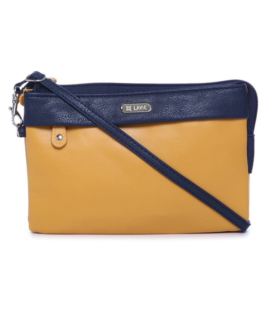 Lavie Yellow Wallet