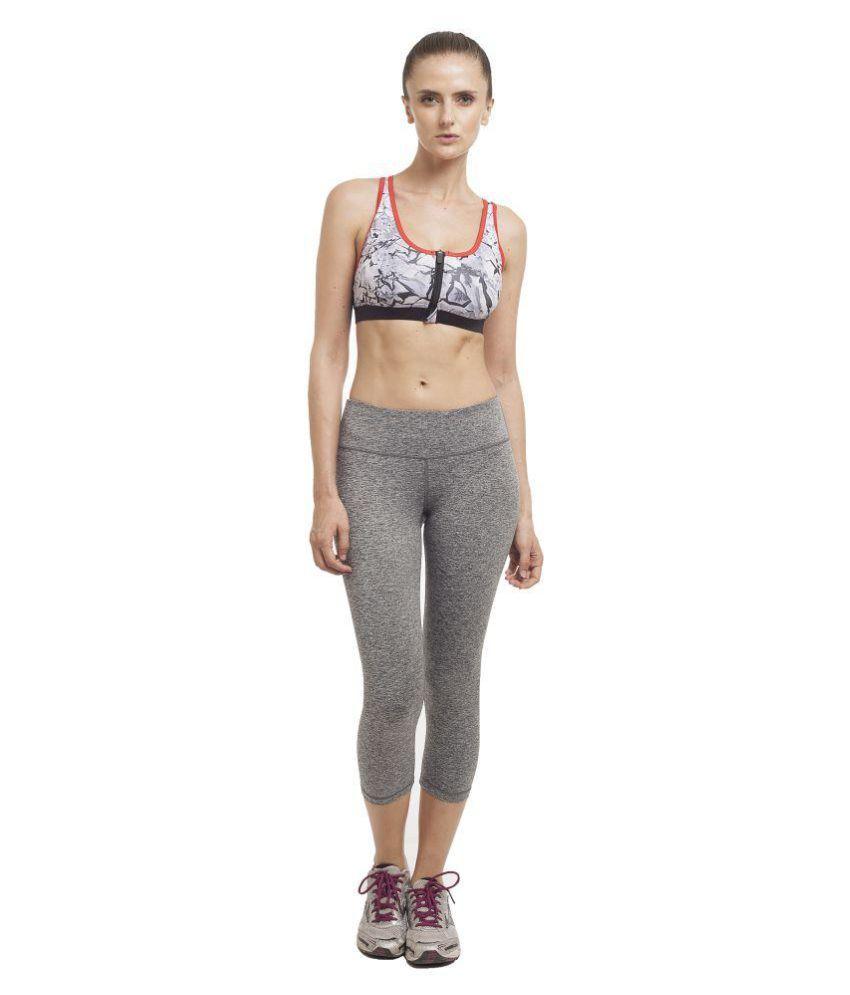 Core Athletics Multi Color Cotton Lycra Sports Bras