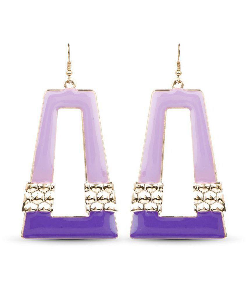 Johareez Purple Alloy Hangings