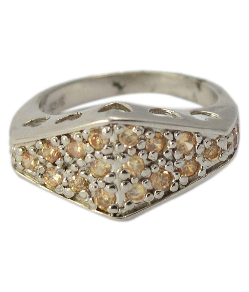 Manirathnum 92.5 Silver Ring