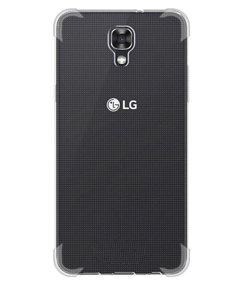 on sale 2d43b 1e847 LG X Screen K500i Cover by Ziaon - Transparent