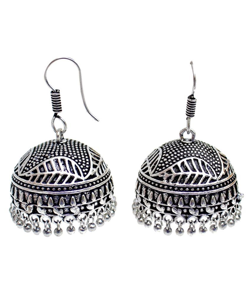 Lucky Jewellery Black Earrings