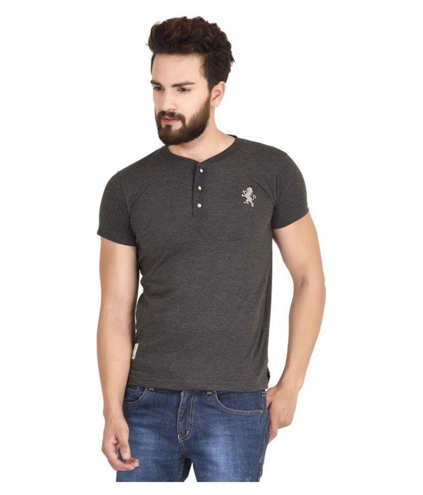 MSG Grey Henley T-Shirt