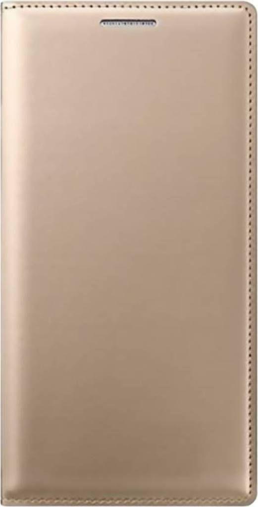 Oppo A37 Flip Cover by Cel - Golden