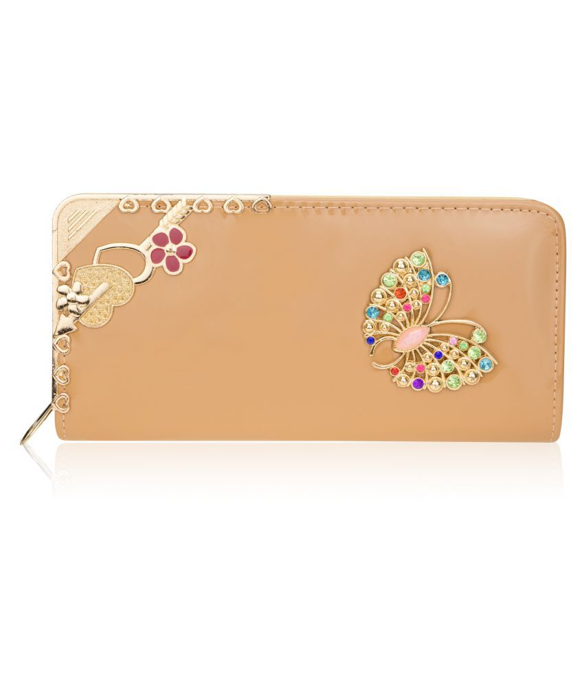 Zeva Beige Wallet