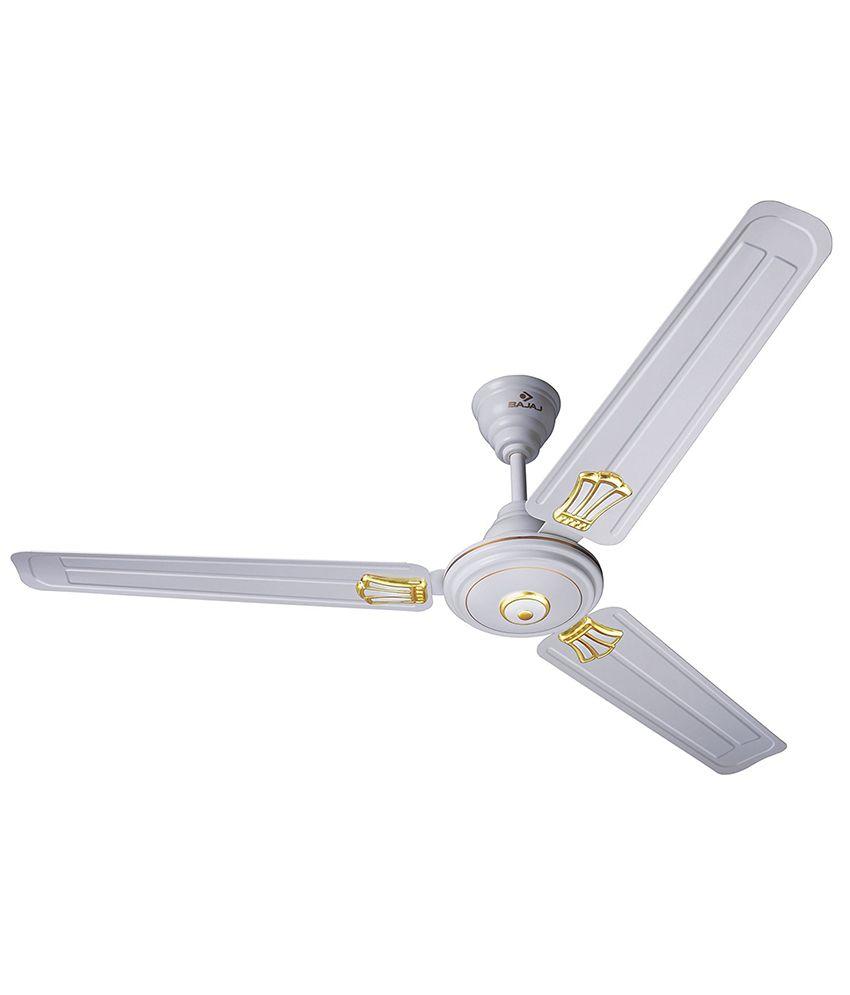 bajaj 1200 mm new bahar deco ceiling fan white price in india buy rh snapdeal com