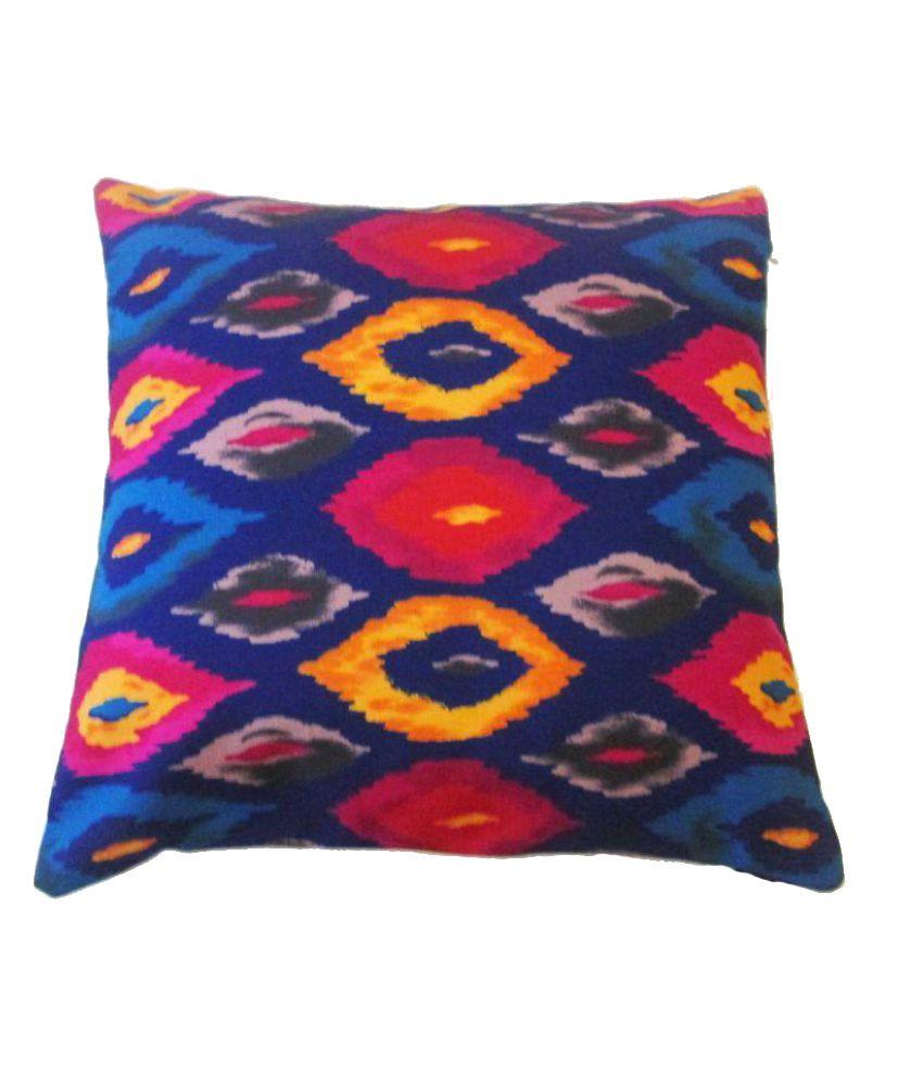 Gunjan Creations Single Velvet Cushion Covers