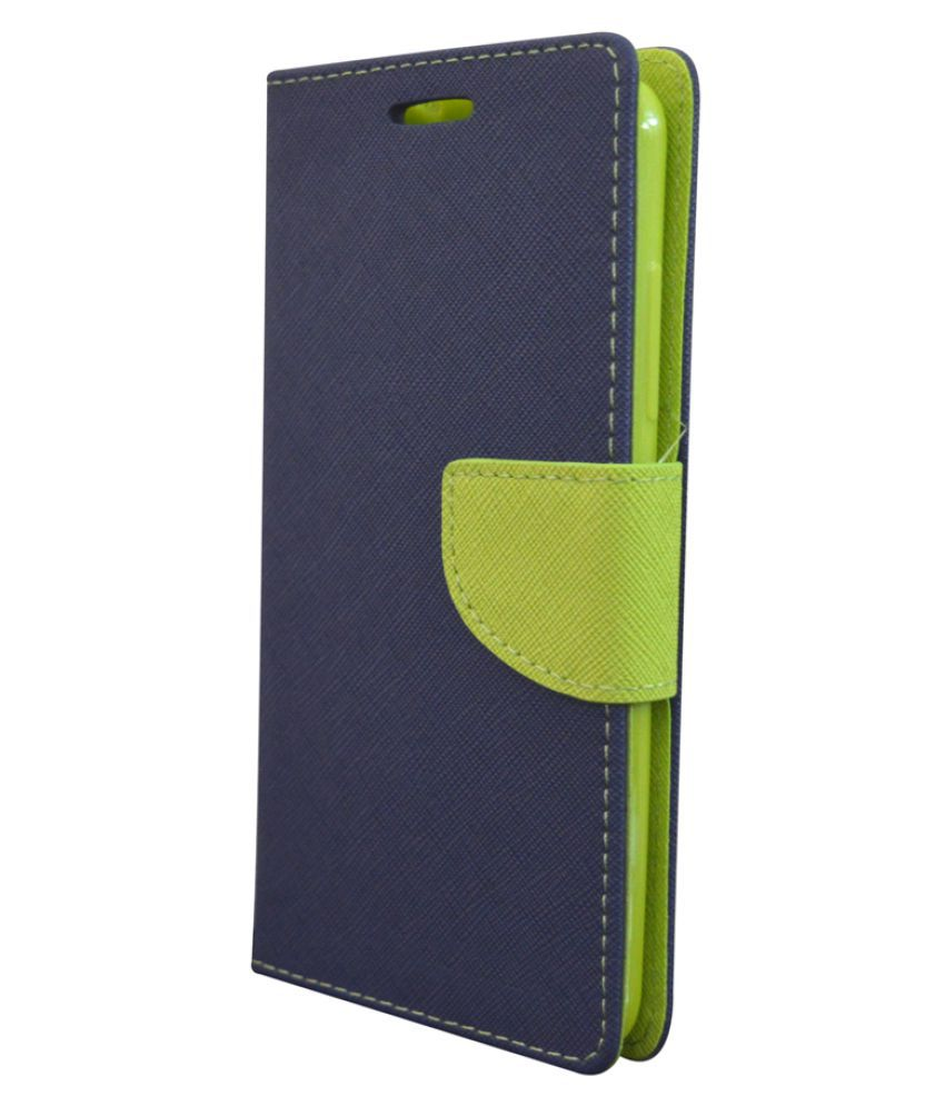 Nokia XL Flip Cover by Coverage - Blue