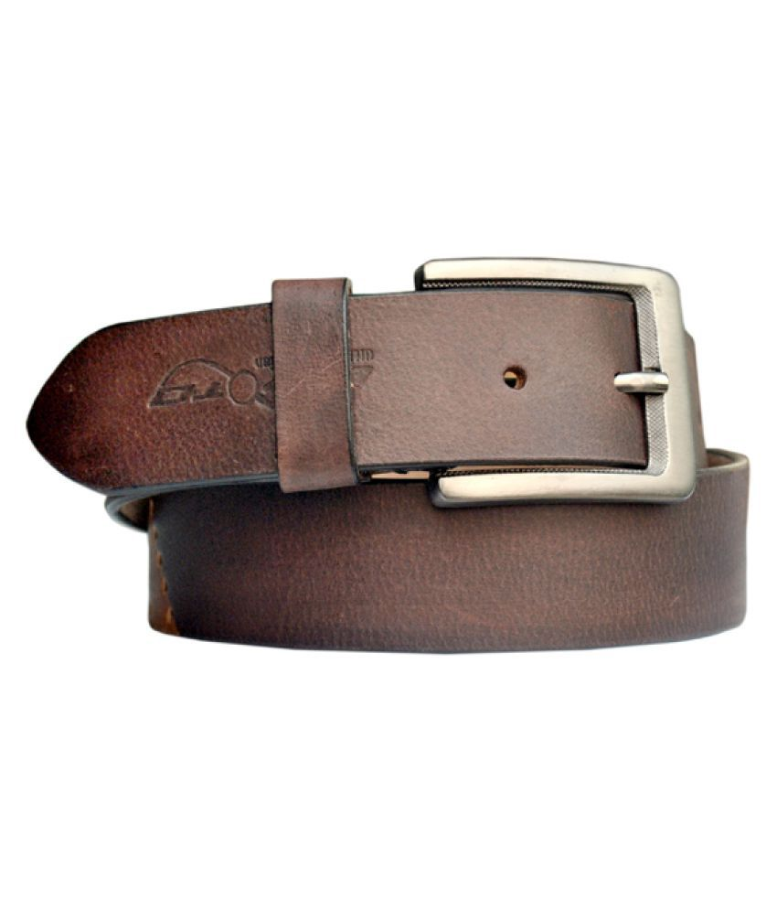 Divoto Brown Leather Casual Belts