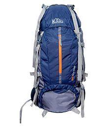 Himalayan Adventure 60-75 litre Blue Hiking Bag