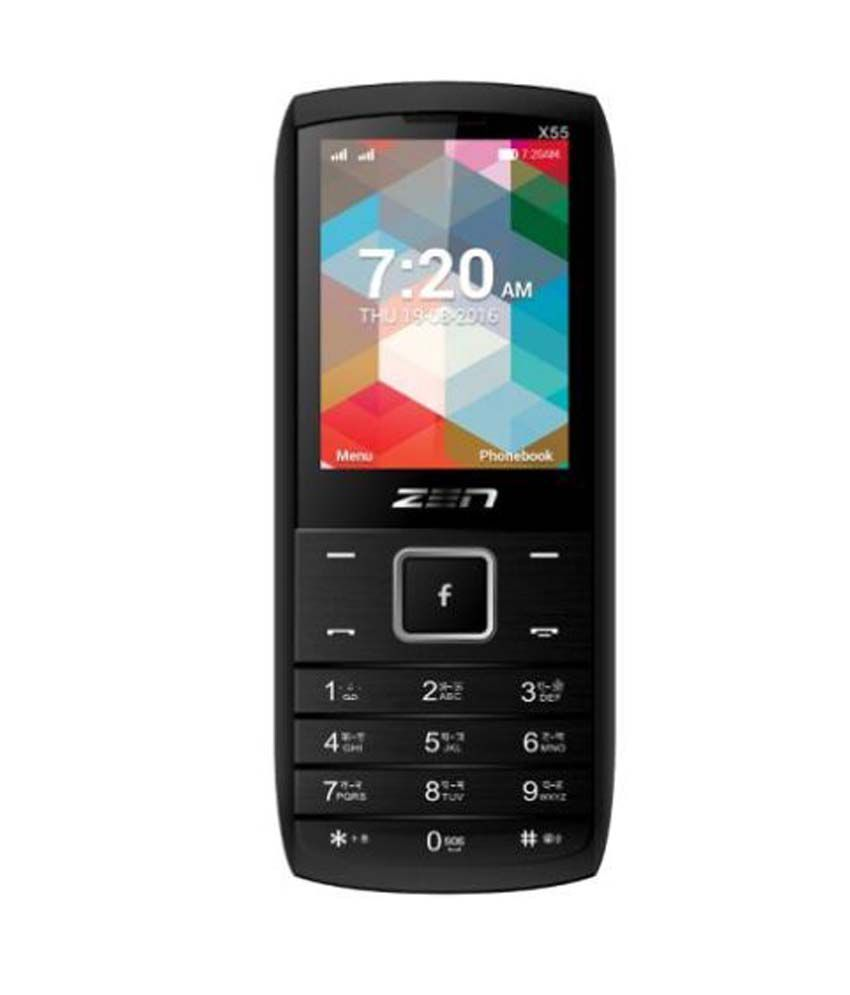 Zen X55 Star Mobile Phones Online at Low Prices | Snapdeal India
