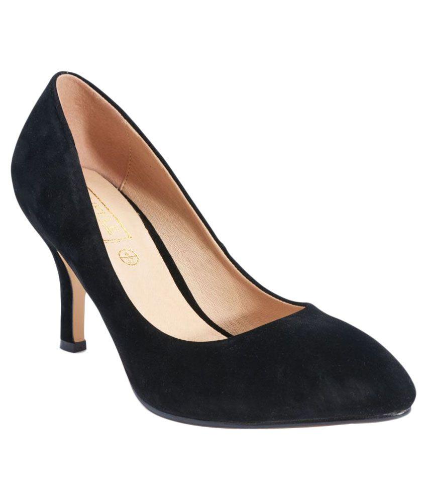 Truffle Collection Black Stiletto Heels