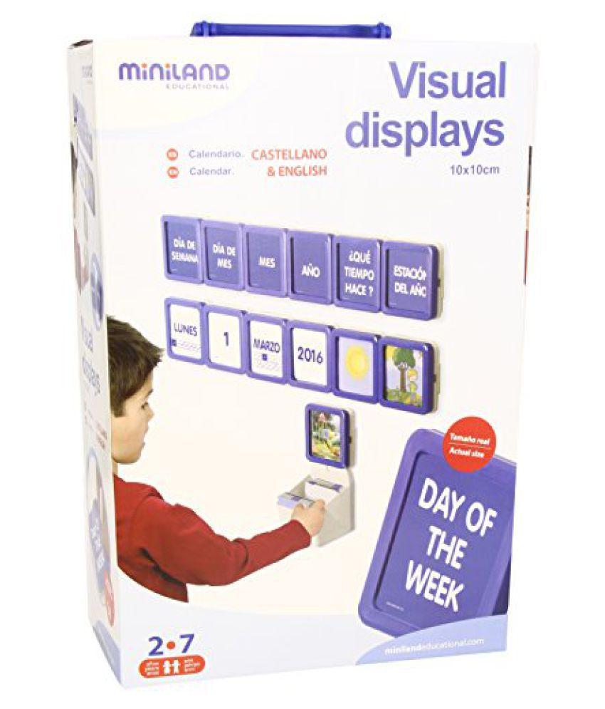 Miniland Visual Displays Calendar