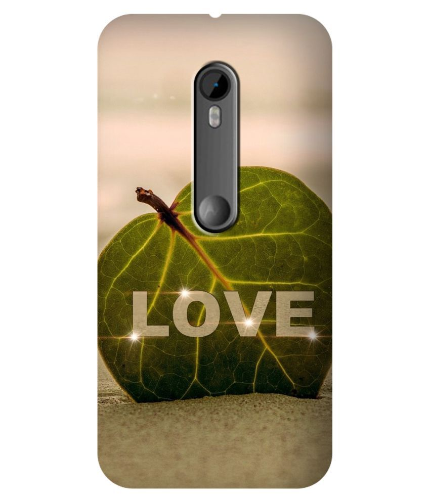 Moto G3 Printed Cover By SWAGMYCASE
