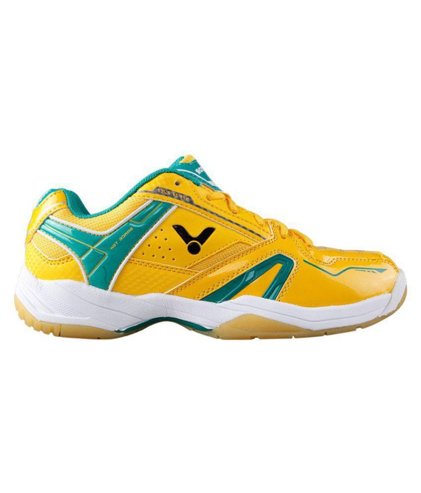 Victor SH A320-E Yellow Indoor Court Shoes - Buy Victor SH A320-E