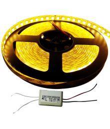 Gold Dust Yellow Diwali Festival LED Strip Light With Operator - Set Of 1