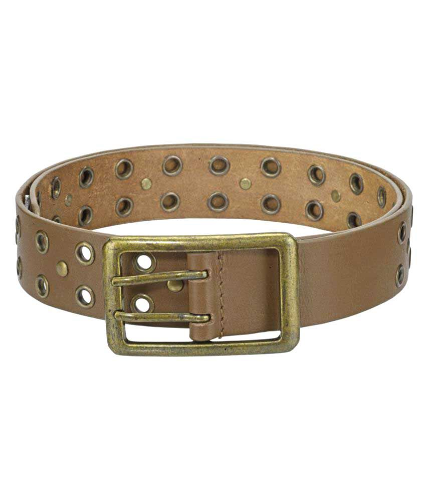Phive Rivers Tan Leather Casual Belts