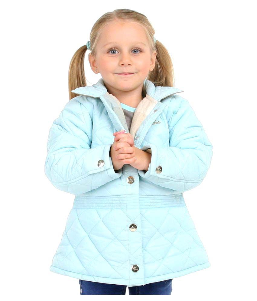 Cherry Crumble Premiuim Short Trench Jacket For Girl