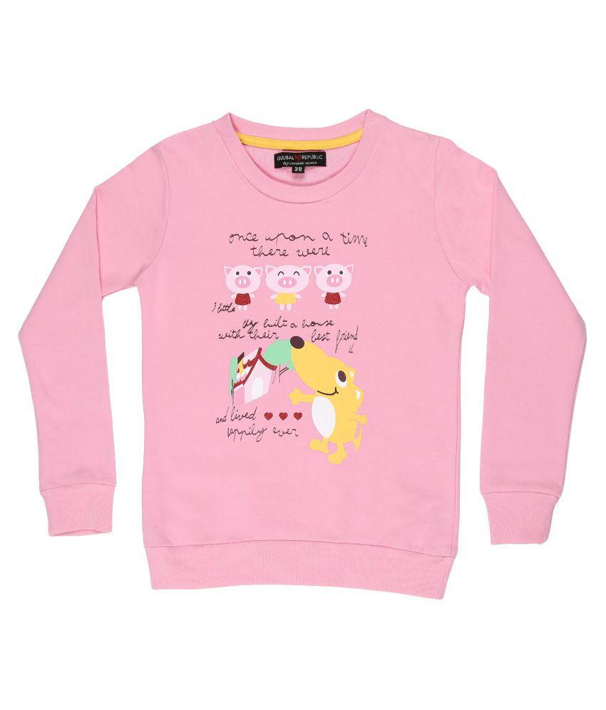 Global Republic Pink Sweatshirt