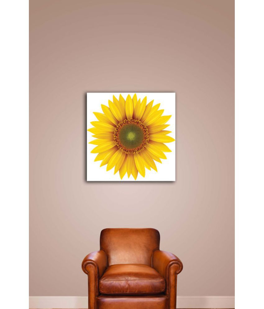 Ell Decor Canvas Floral Paintings Without Frame Single Piece