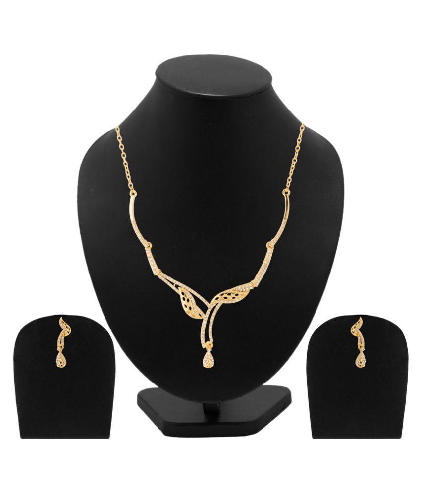 Voylla Antique Necklace Set