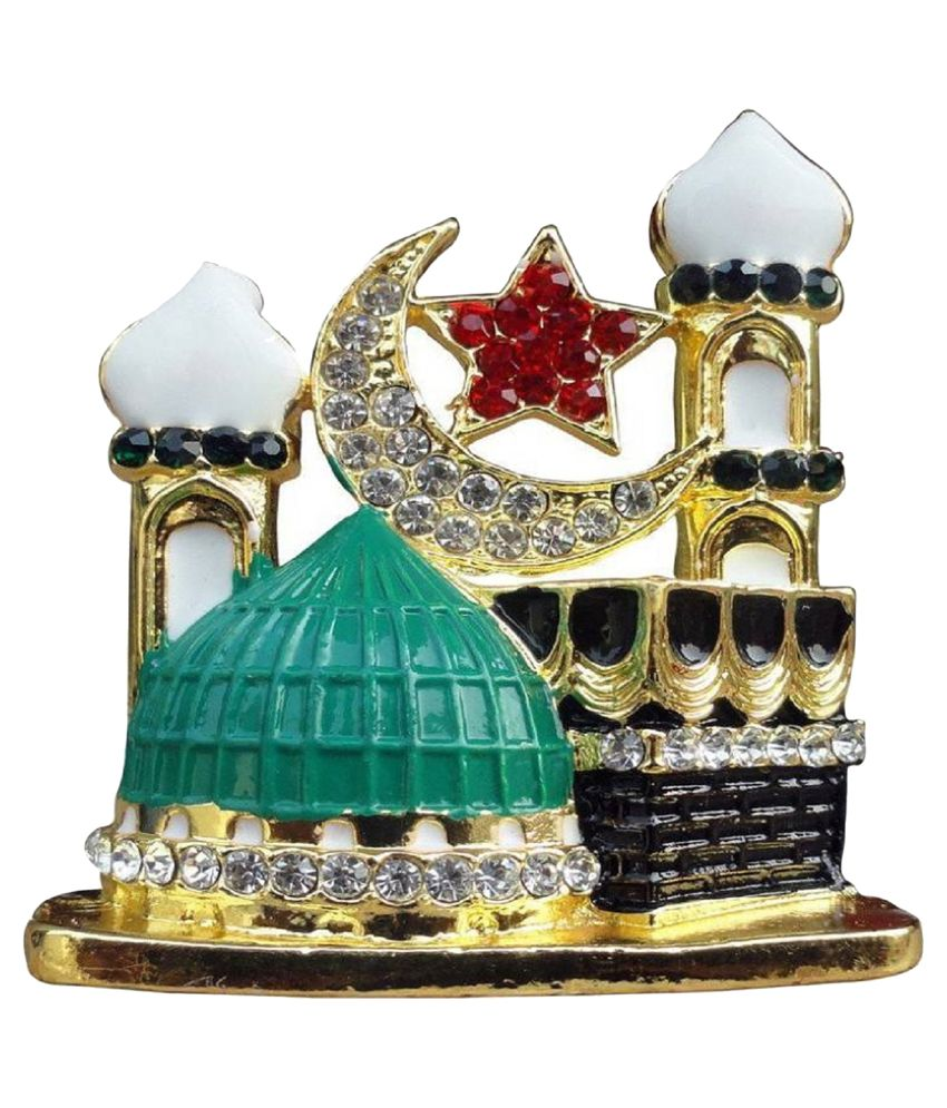 aastha makka madina metel for car dashboard home office