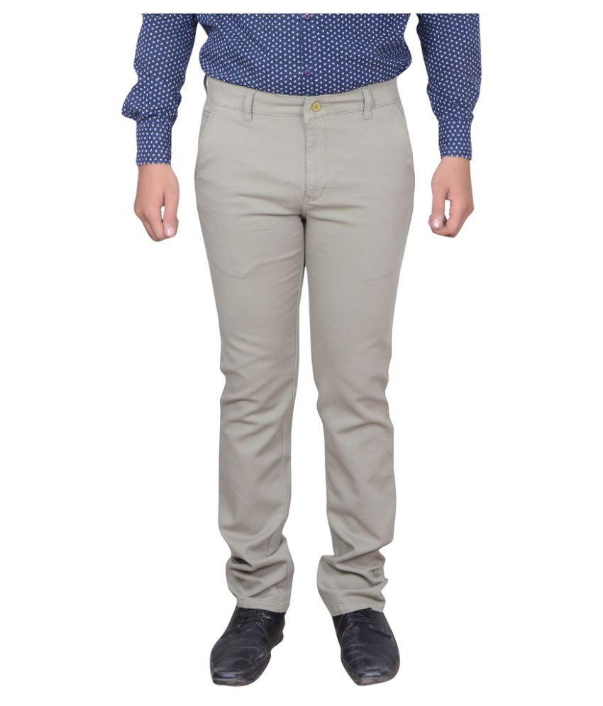 GDS Grey Regular Flat Trouser