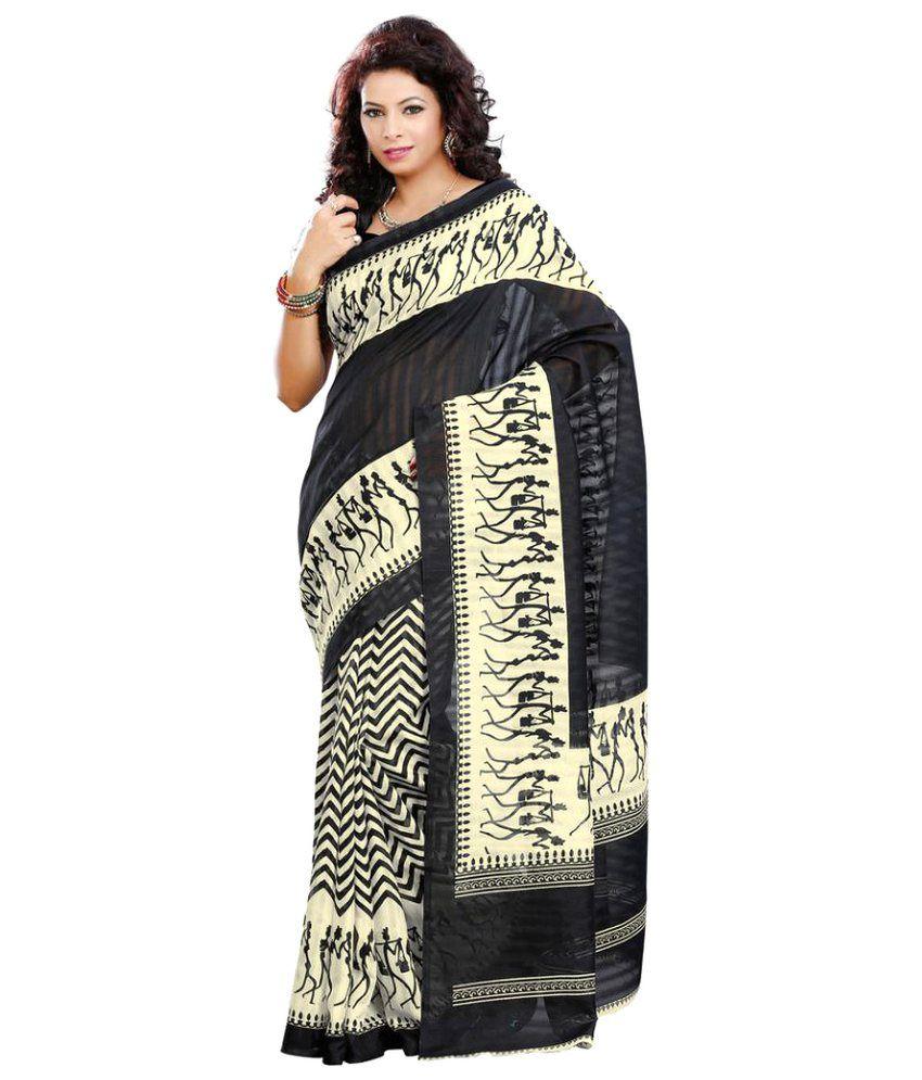 Chigy Whigy Multicoloured Bhagalpuri Silk Saree