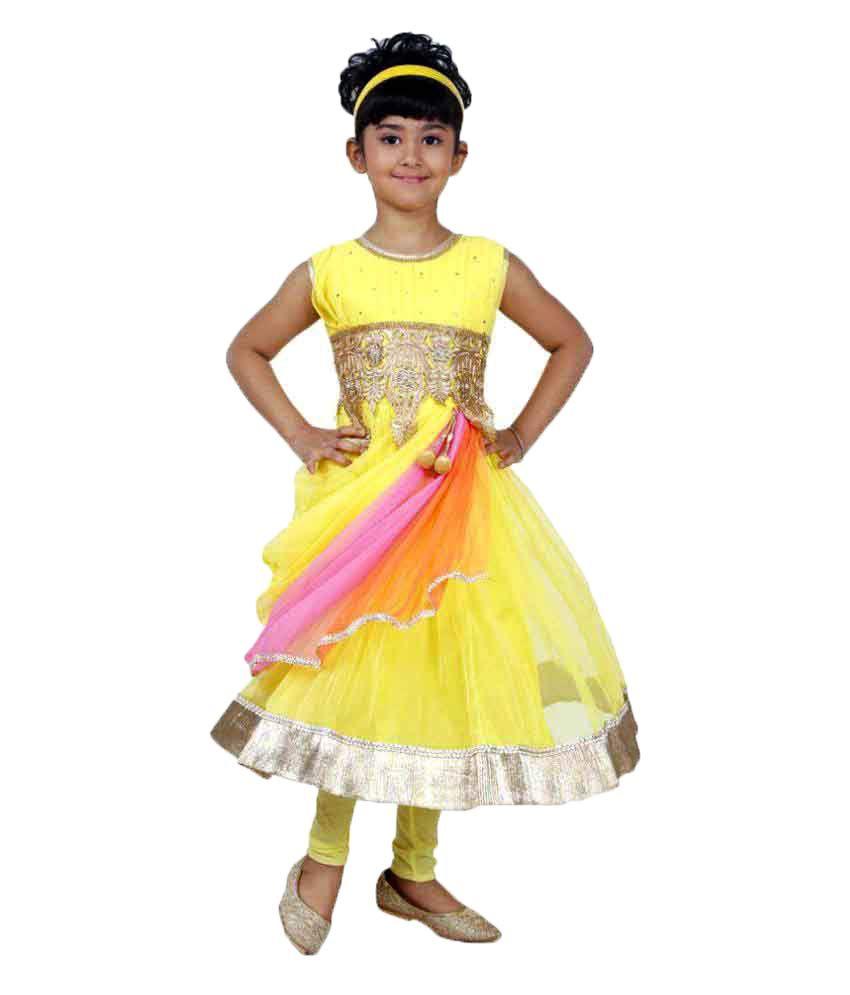 Minimum 60% Off + Extra 20% Off On Girls Ethnic Wear