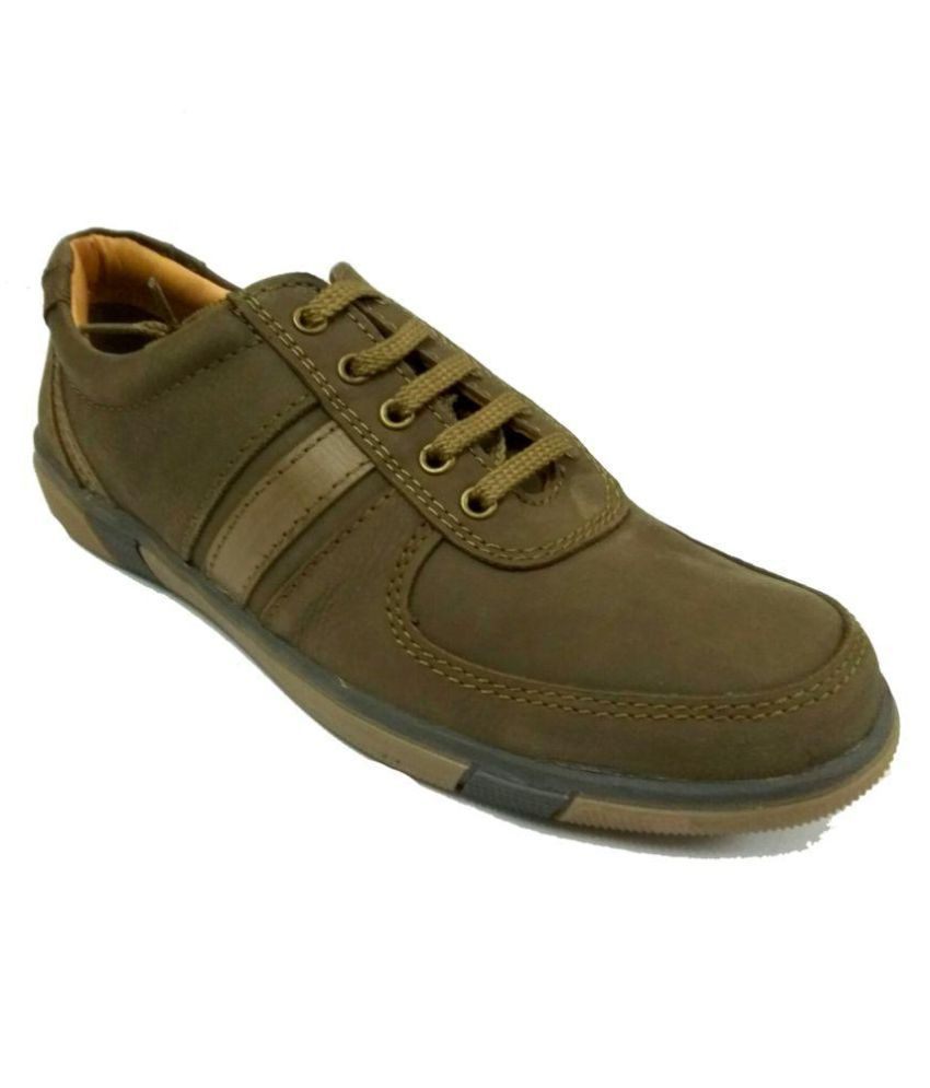 Xedo Outdoor Green Casual Shoes