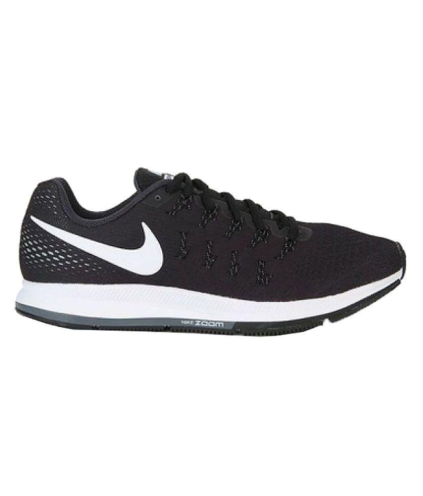 3f58432b737e Nike Air zoom 33 pegasus Nike Air Zoom Pegasus 33 Black Training Shoes ...