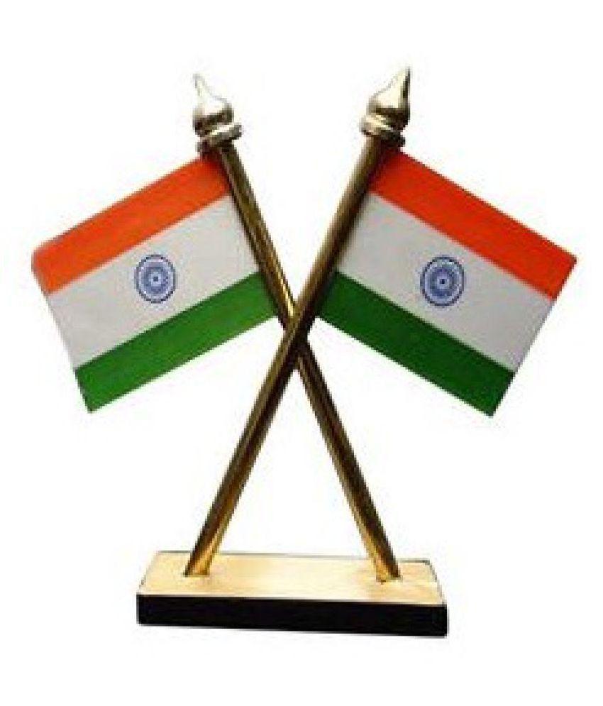 bigwheels multicolour indian flag stand for car dashboard buy