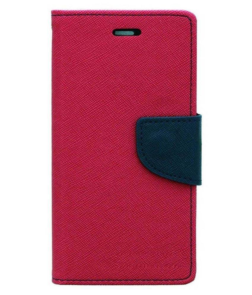 HTC Desire 820 Flip Cover by MV - Pink