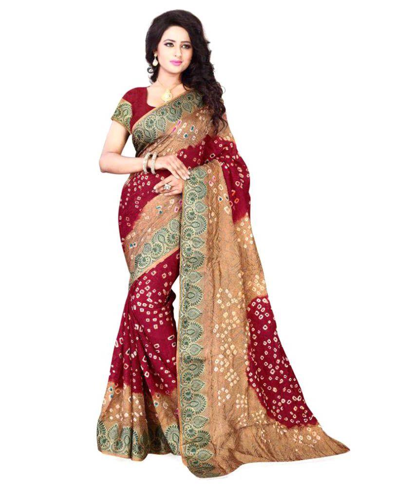 Feny Fab Multicoloured Cotton Silk Saree