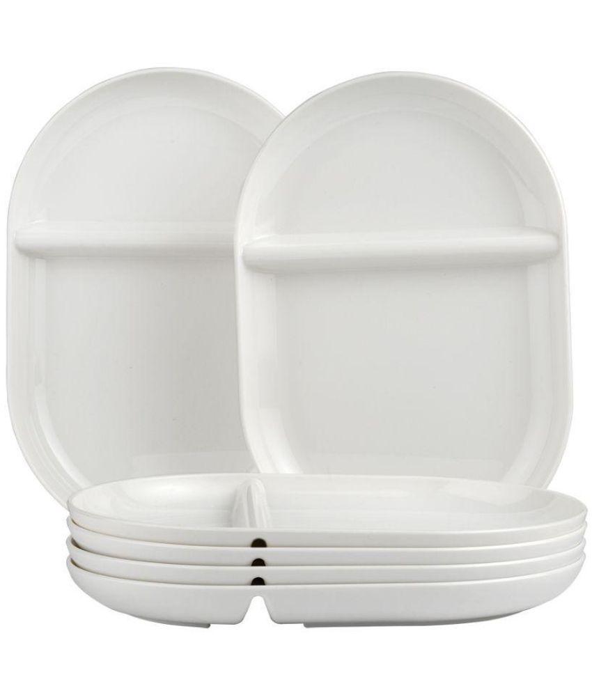 Foodies Tableware Unbrakeable u0026 Boilable Polycarbonate Tableware Quick Meal Plate 27.5 cm X 19 cm ...  sc 1 st  Snapdeal & Foodies Tableware Unbrakeable u0026 Boilable Polycarbonate Tableware ...