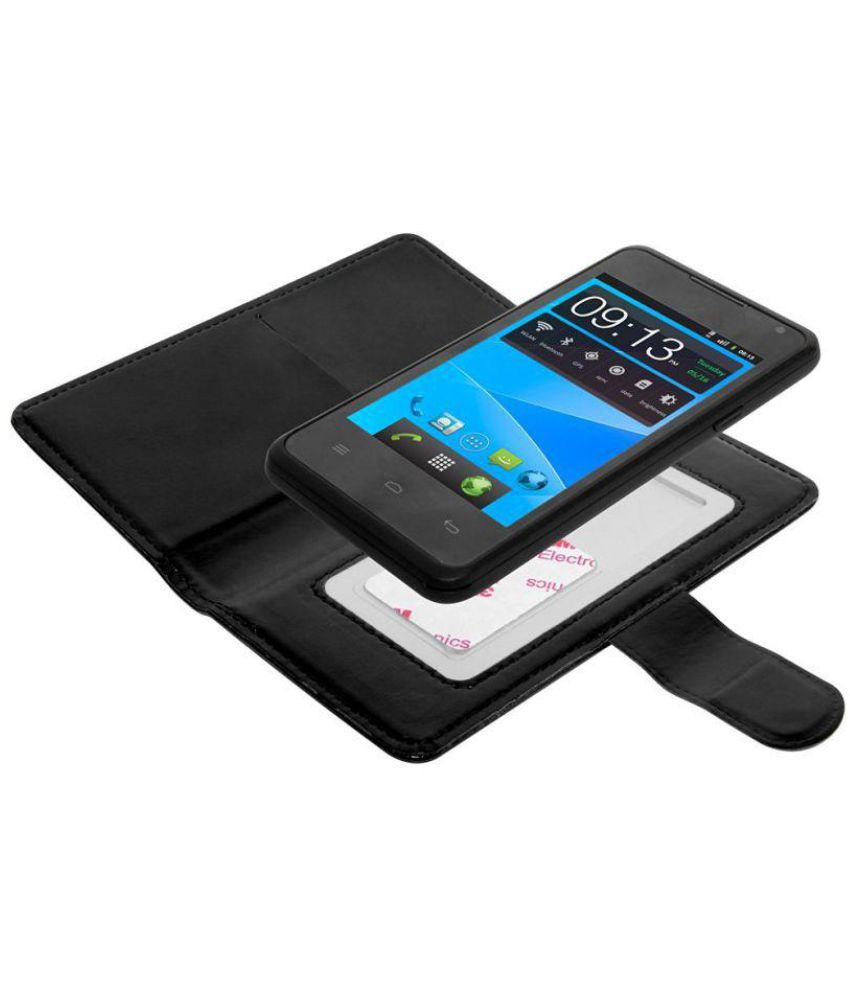 Lenovo Vibe Shot Flip Cover by STK - Black