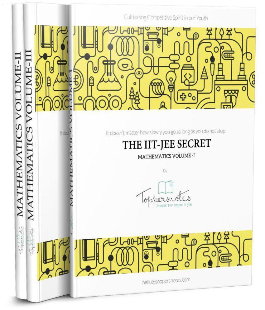 IIT JEE Toppers Handwritten Notes-Mathematics: Buy IIT JEE