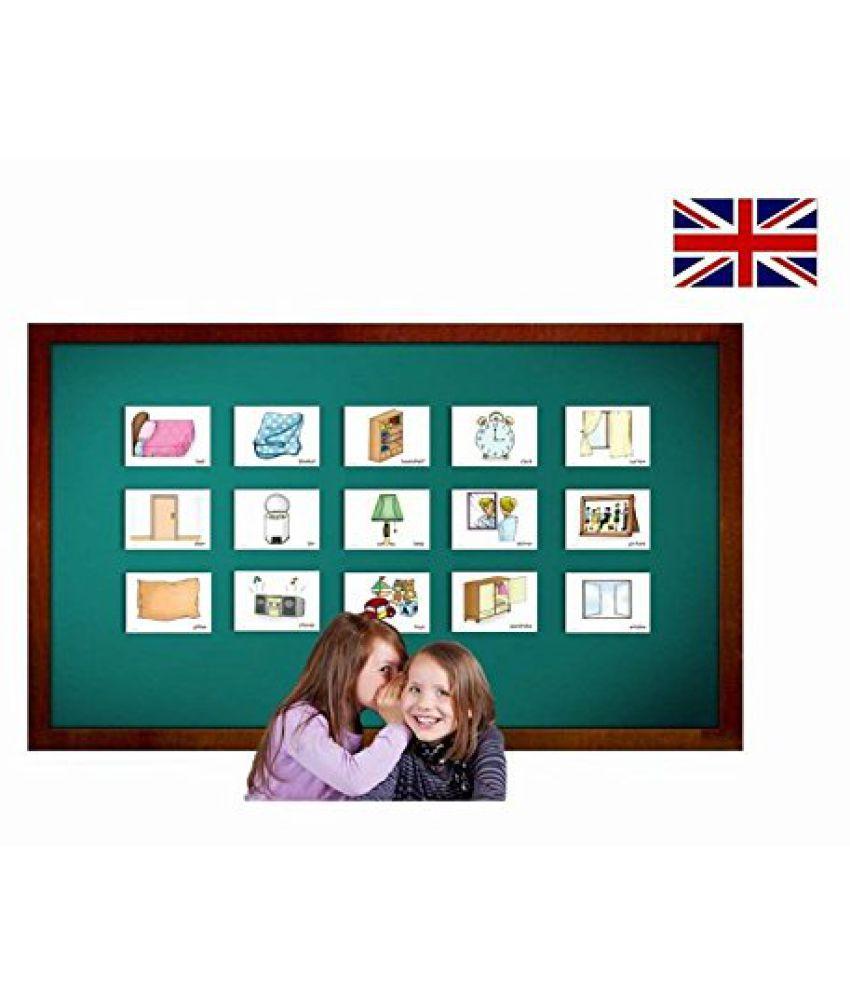 Bedroom Flashcards - English Vocabulary Cards