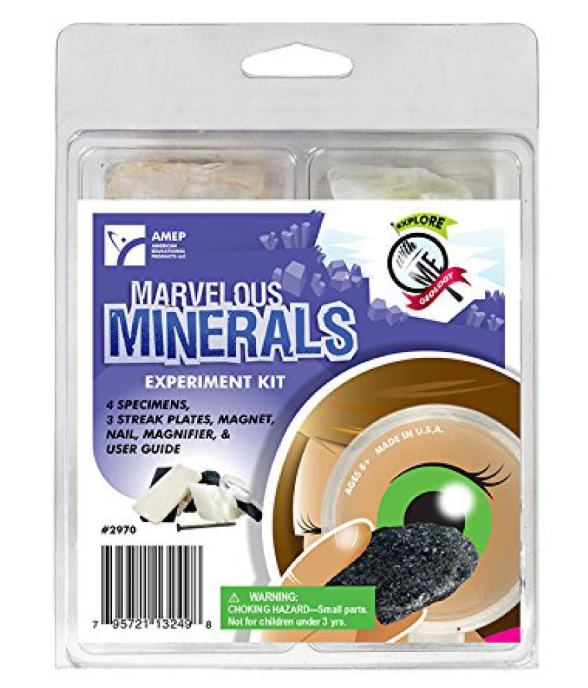 * EXPLORE WITH ME MARVELOUS MINERALS