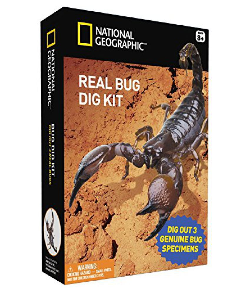 Bug Dig Kit by National Geographic kids educational toy ...