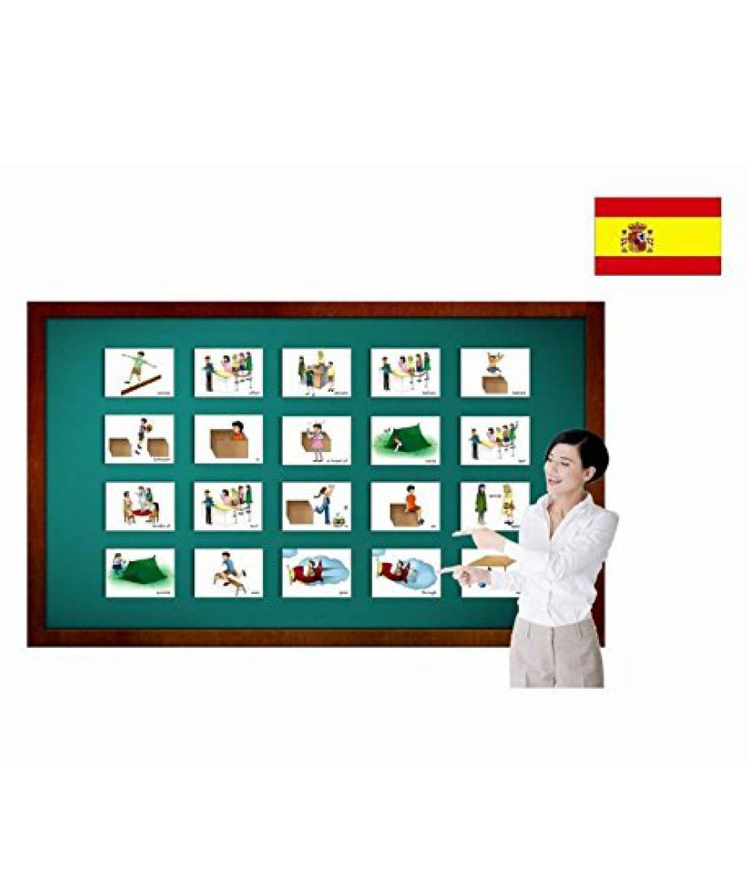 Tarjetas de vocabulario - Preposiciones - Prepositions Flashcards in Spanish