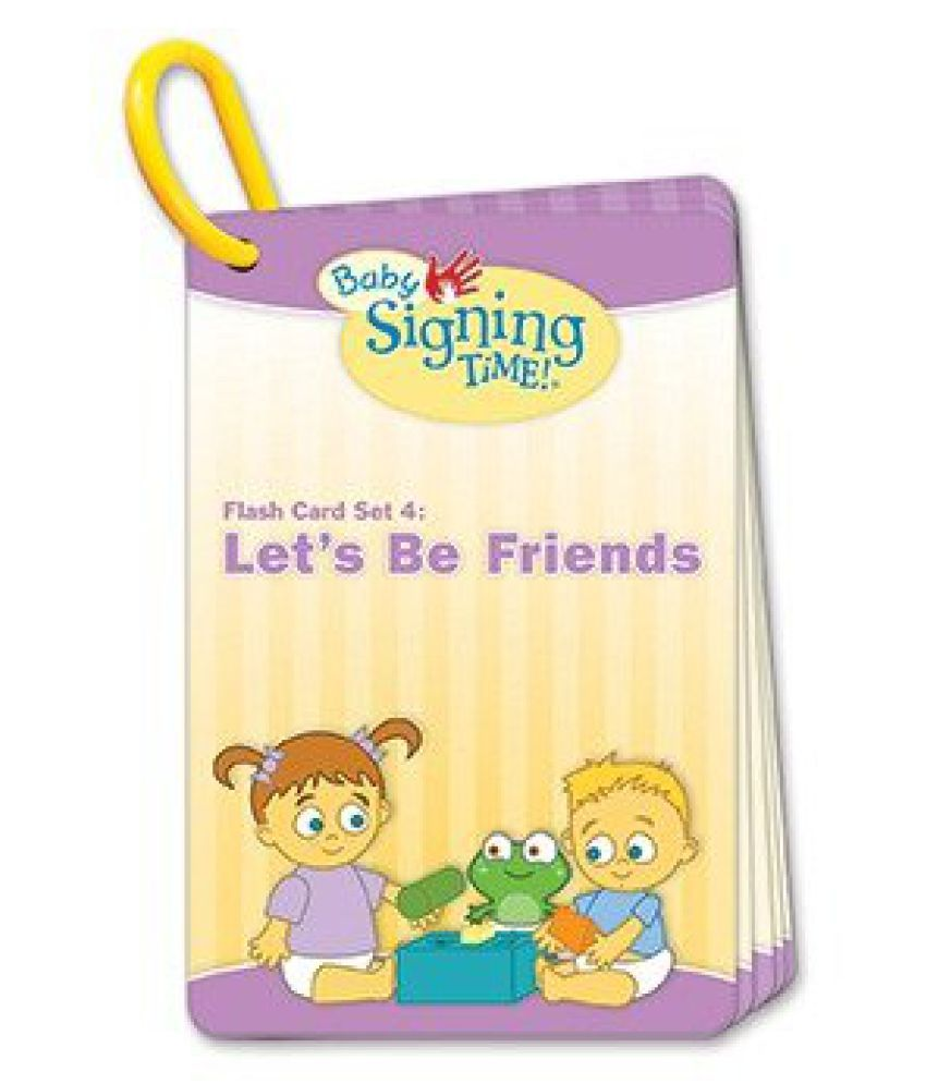 Baby Signing Time Vol 4 Flash Card