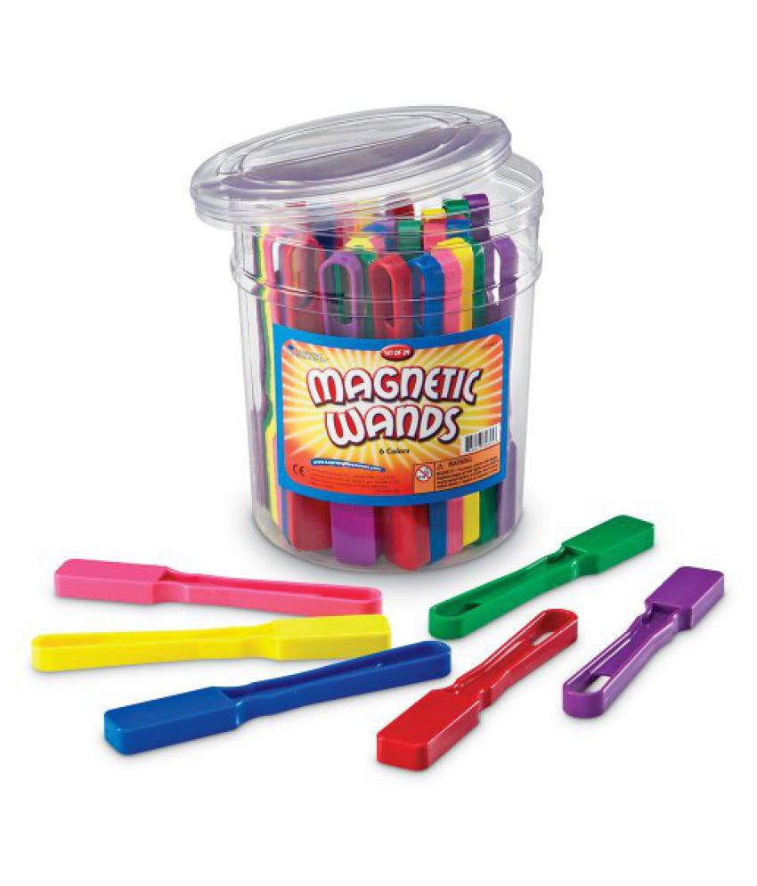 Learning Resources Wands Magnetic Set Of 24