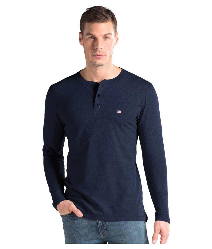 Jockey Blue Henley T-Shirt