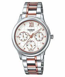Casio A1002 Enticer Series LTP-E306RG-7AVDF Ladies Wrist Watch